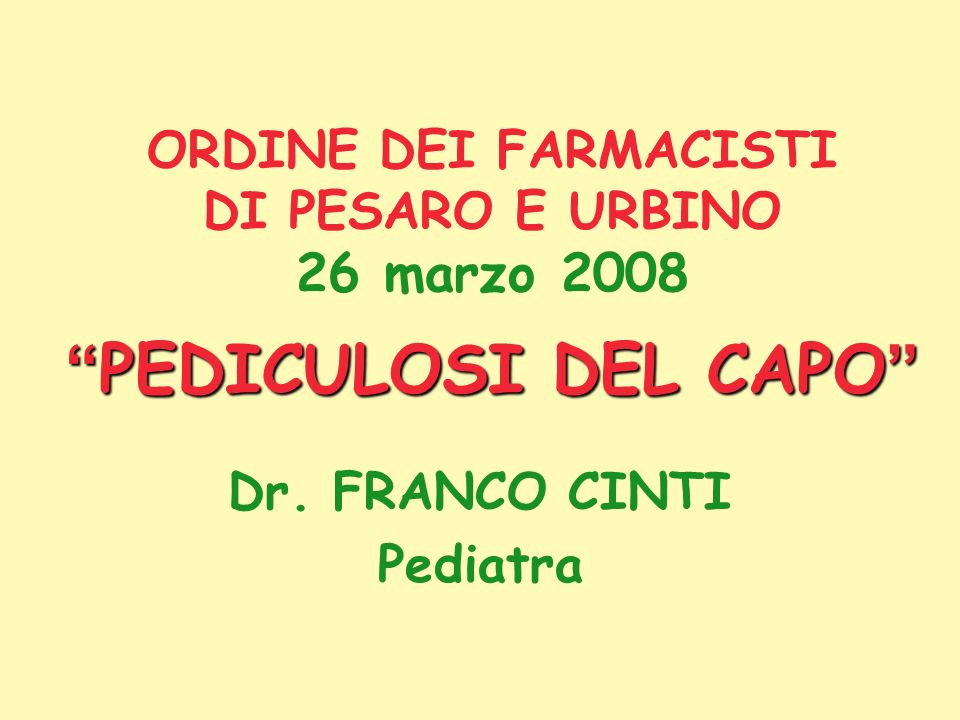 Dr. FRANCO CINTI Pediatra