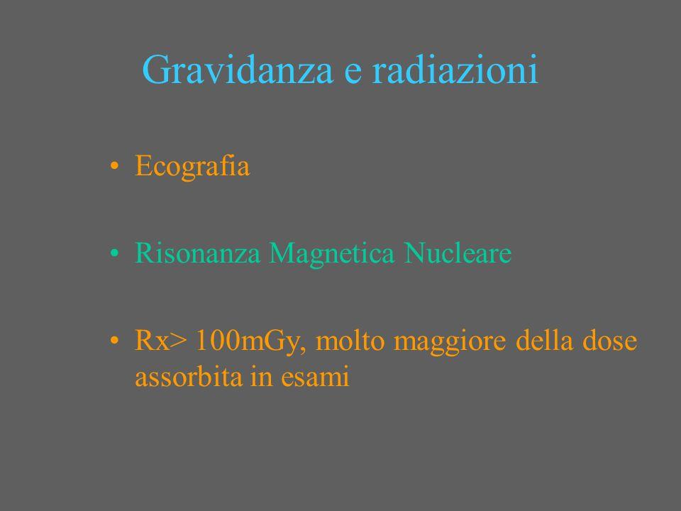 Gravidanza e radiazioni
