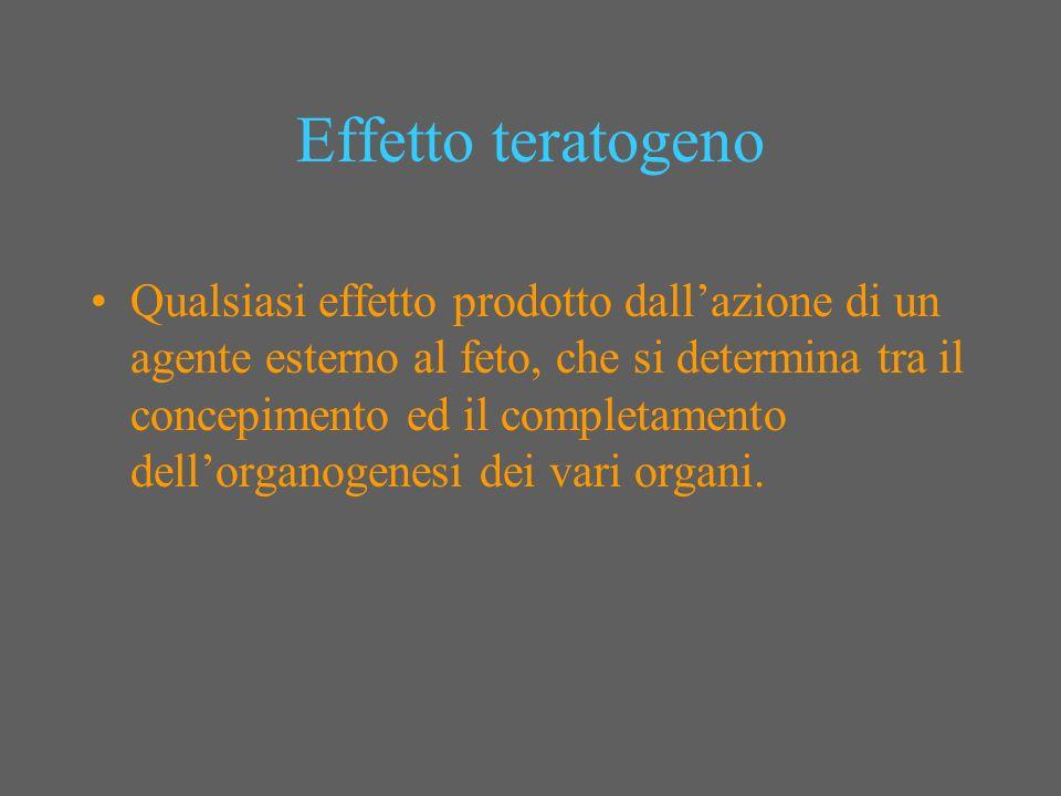 Effetto teratogeno