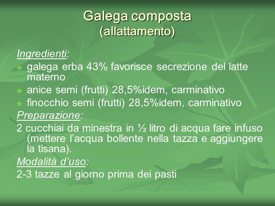 Galega composta (allattamento)