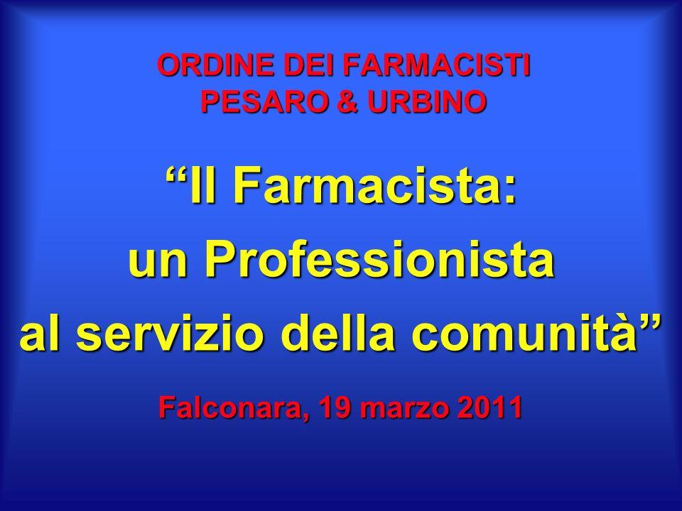 ORDINE DEI FARMACISTI PESARO & URBINO