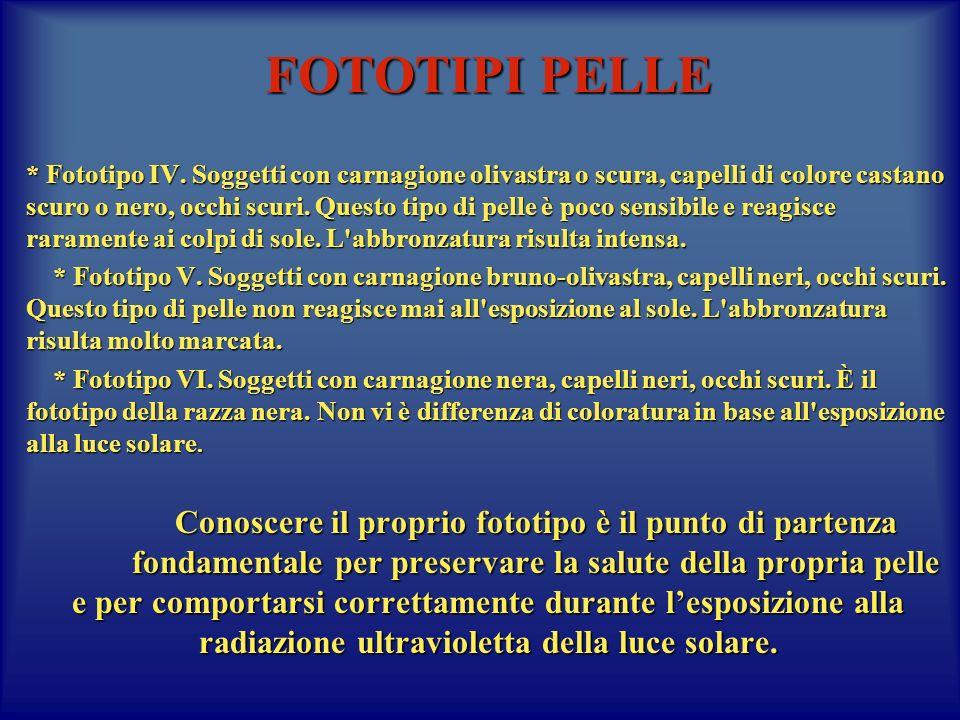 FOTOTIPI PELLE