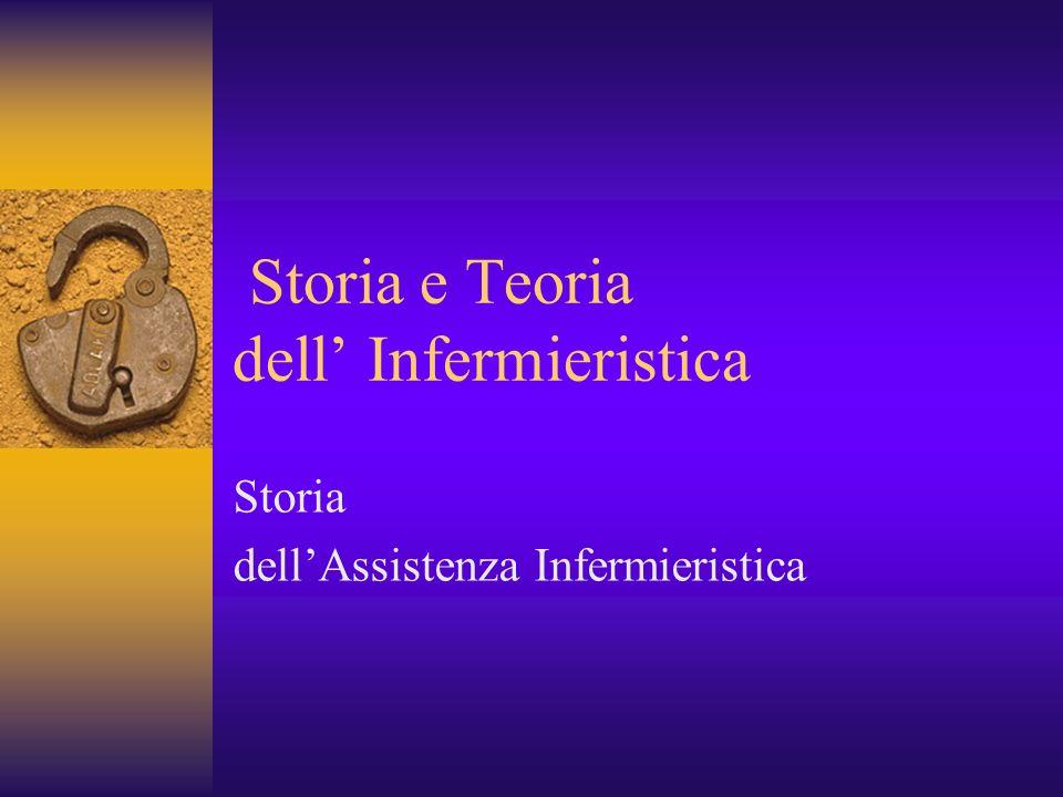 Storia e Teoria dell' Infermieristica