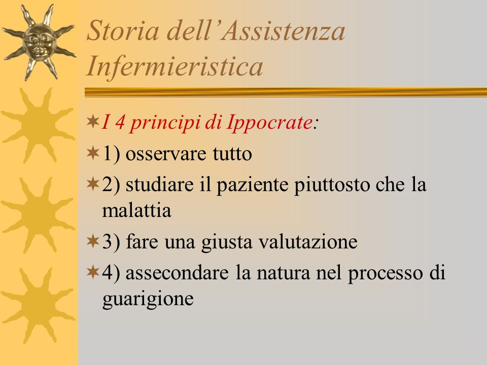 Storia dell'Assistenza Infermieristica