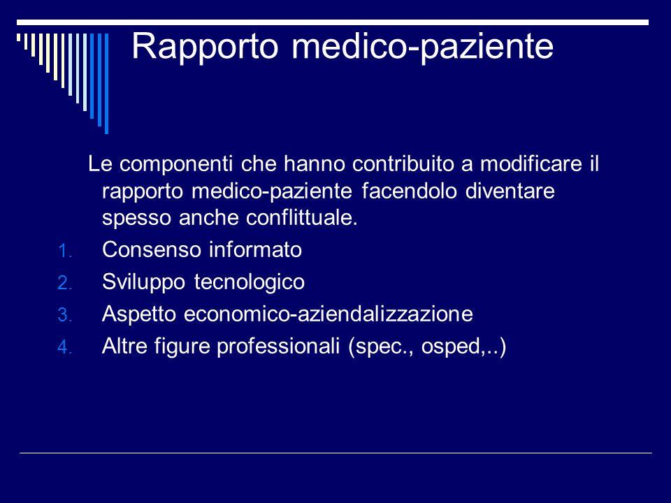 Rapporto medico-paziente