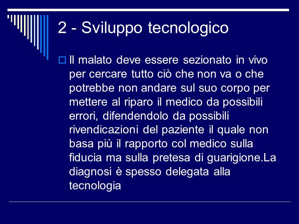 2 - Sviluppo tecnologico