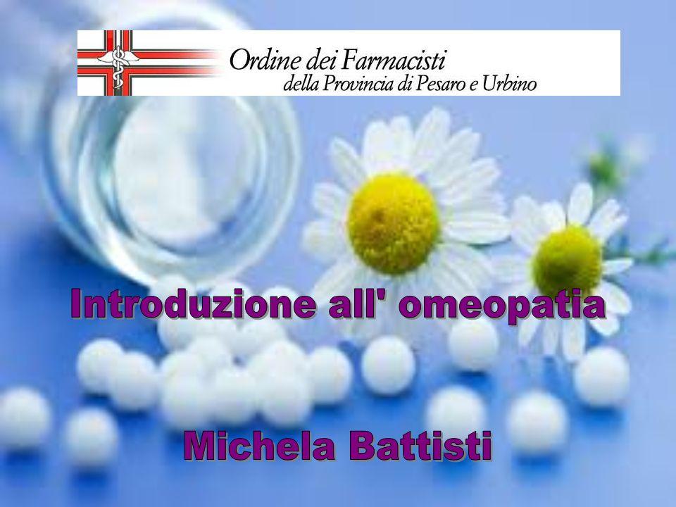 Introduzione all omeopatia