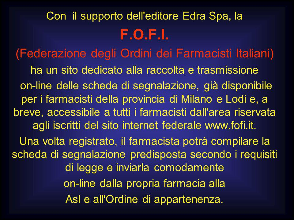 F.O.F.I. (Federazione degli Ordini dei Farmacisti Italiani)