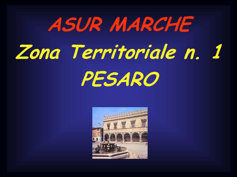 ASUR MARCHE Zona Territoriale n. 1 PESARO