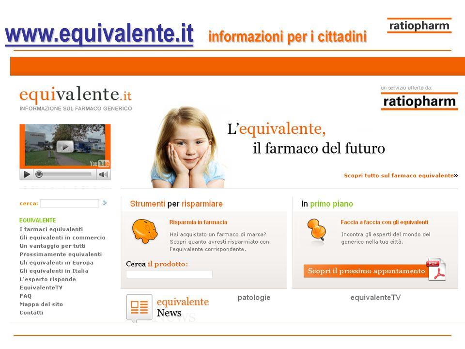 www.equivalente.it informazioni per i cittadini