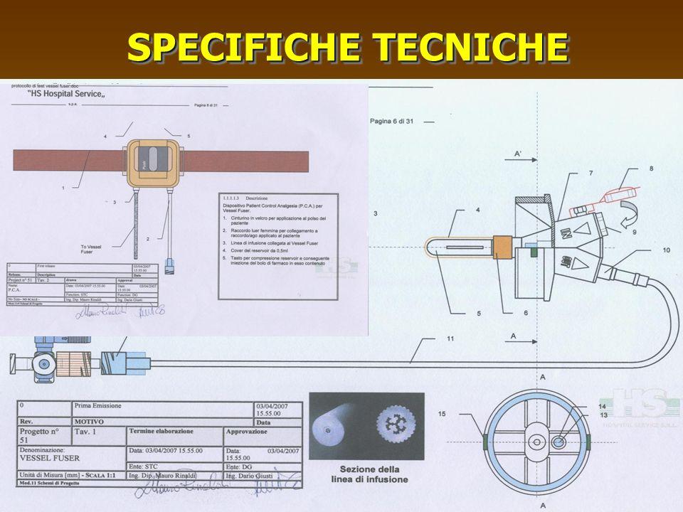 SPECIFICHE TECNICHE A