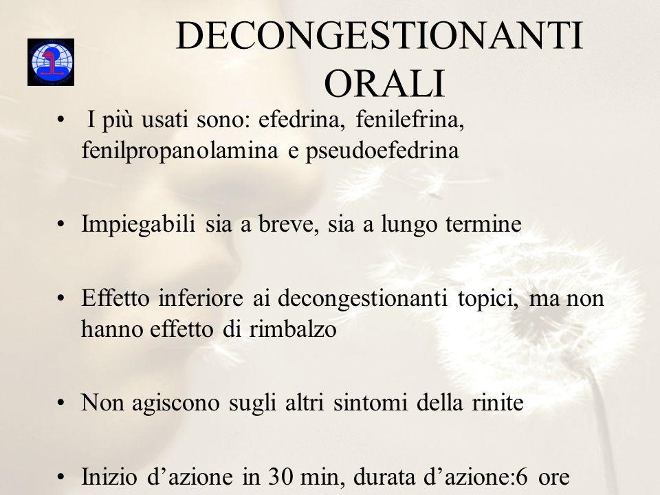 DECONGESTIONANTI ORALI