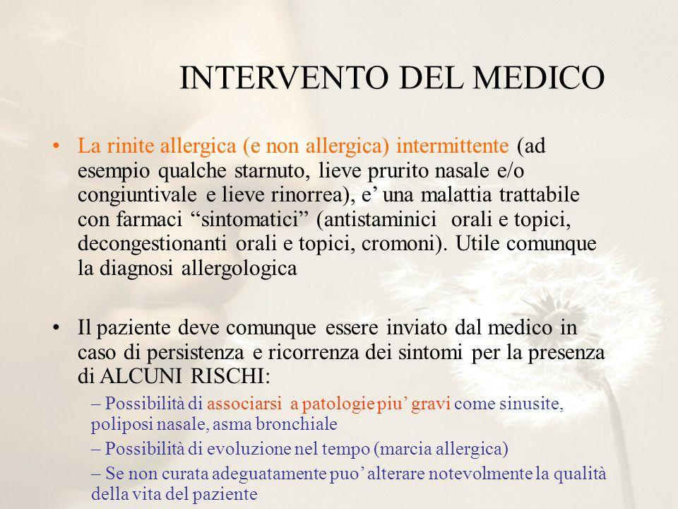 INTERVENTO DEL MEDICO