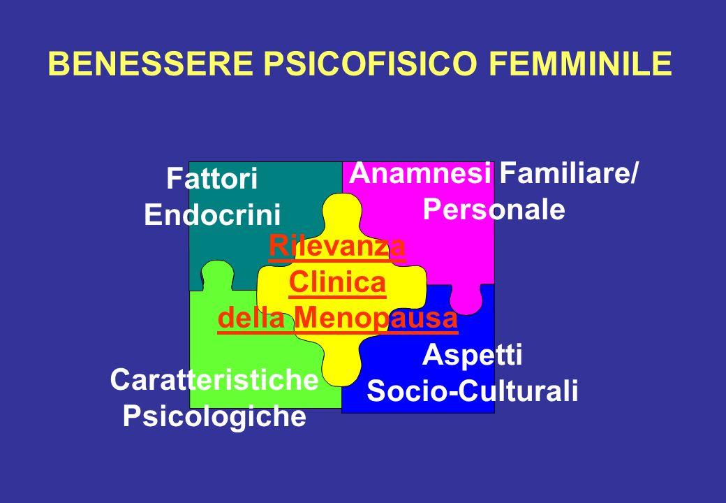 BENESSERE PSICOFISICO FEMMINILE