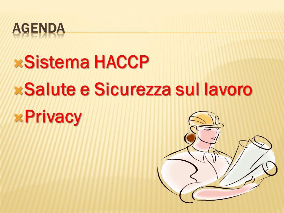 Salute e Sicurezza sul lavoro Privacy