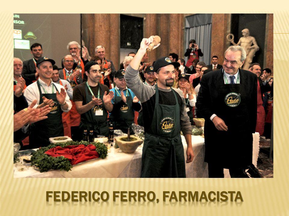 FEDERICO FERRO, FARMACISTA