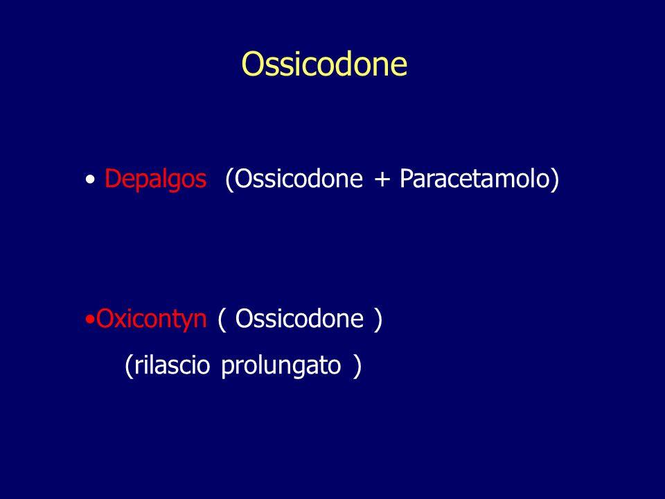 Ossicodone Depalgos (Ossicodone + Paracetamolo)