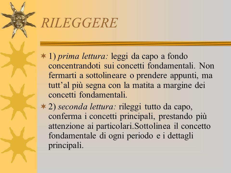 RILEGGERE
