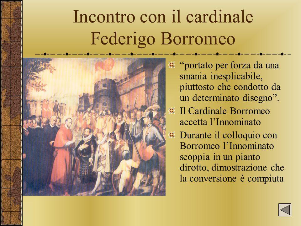 Incontro con il cardinale Federigo Borromeo