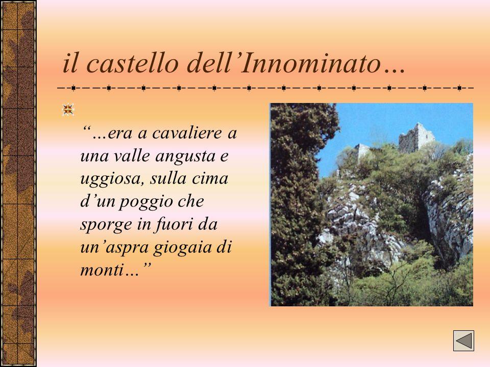 il castello dell'Innominato…