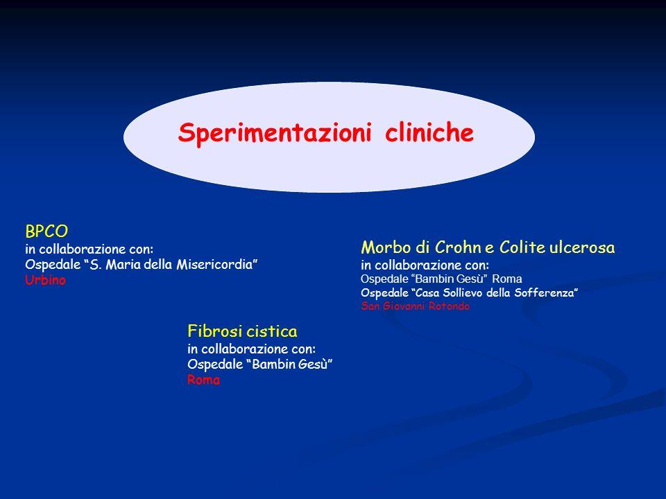 Sperimentazioni cliniche