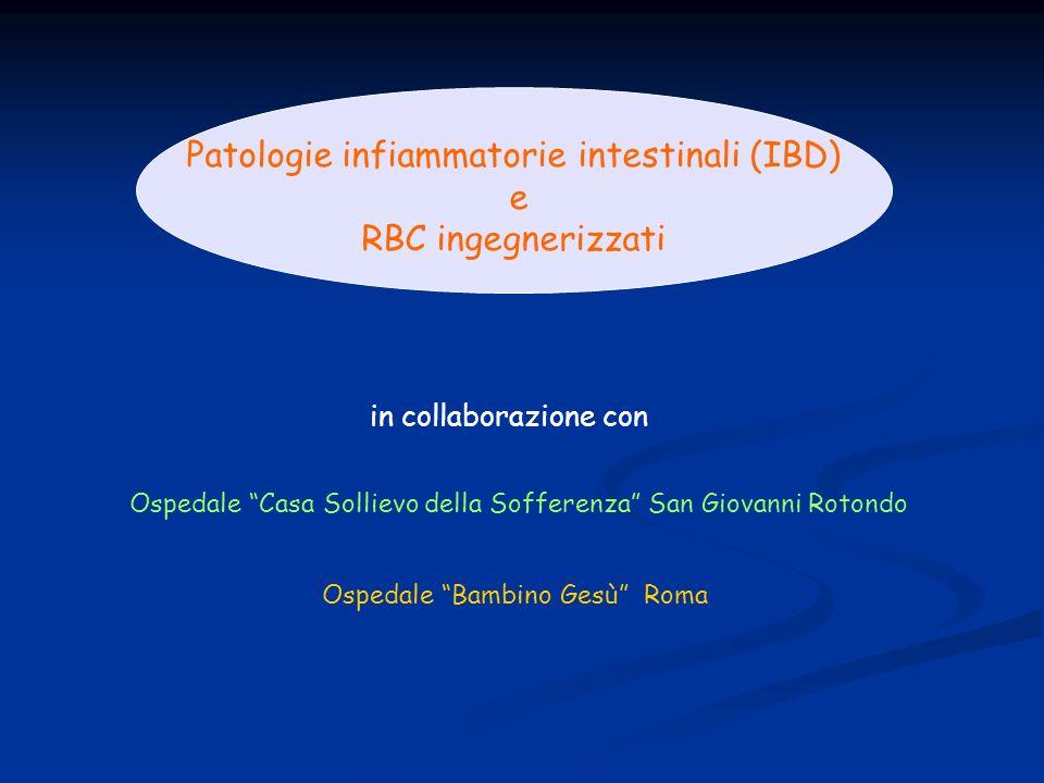 Patologie infiammatorie intestinali (IBD)