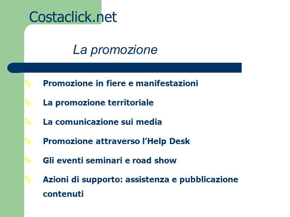 Costaclick.net La promozione Promozione in fiere e manifestazioni