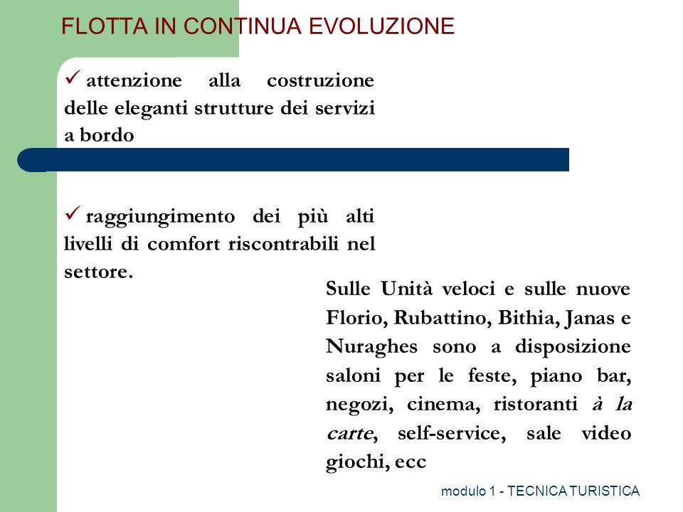 FLOTTA IN CONTINUA EVOLUZIONE