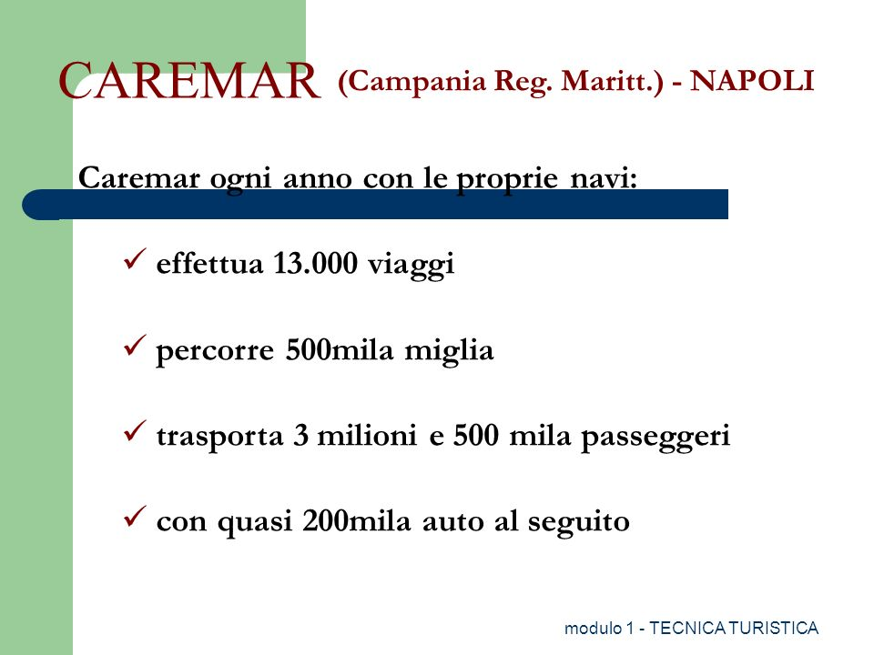 (Campania Reg. Maritt.) - NAPOLI