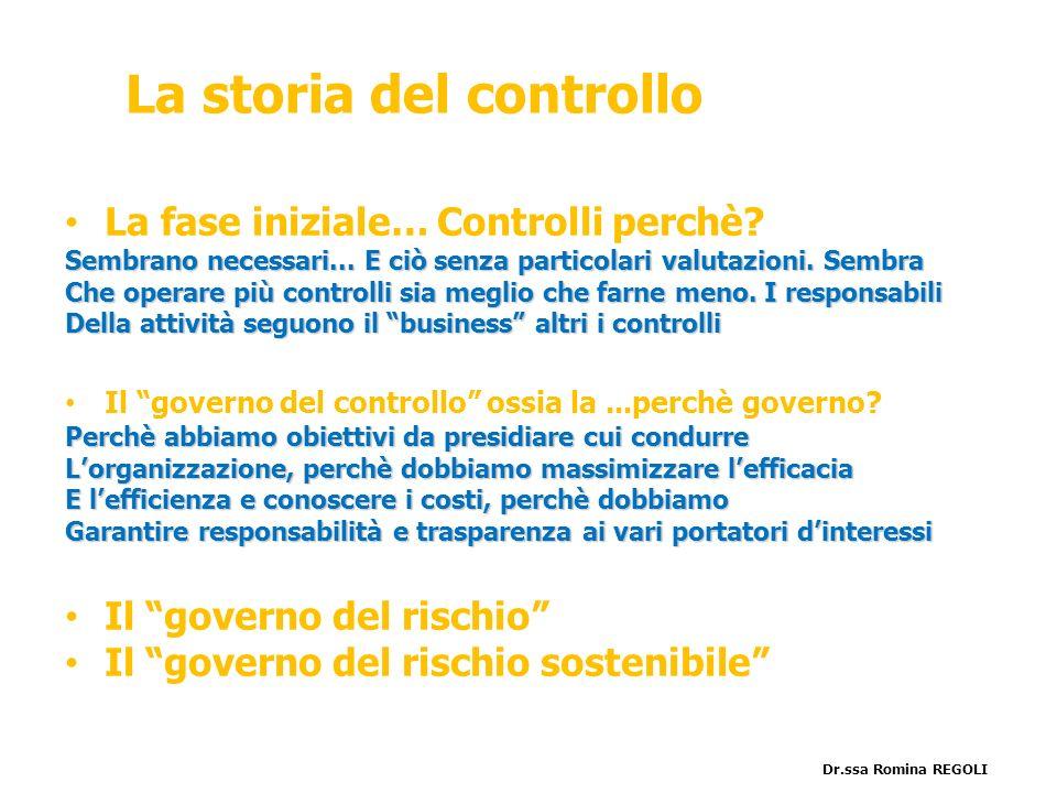 La storia del controllo