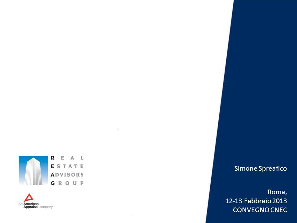 Simone Spreafico Roma, 12-13 Febbraio 2013 CONVEGNO CNEC