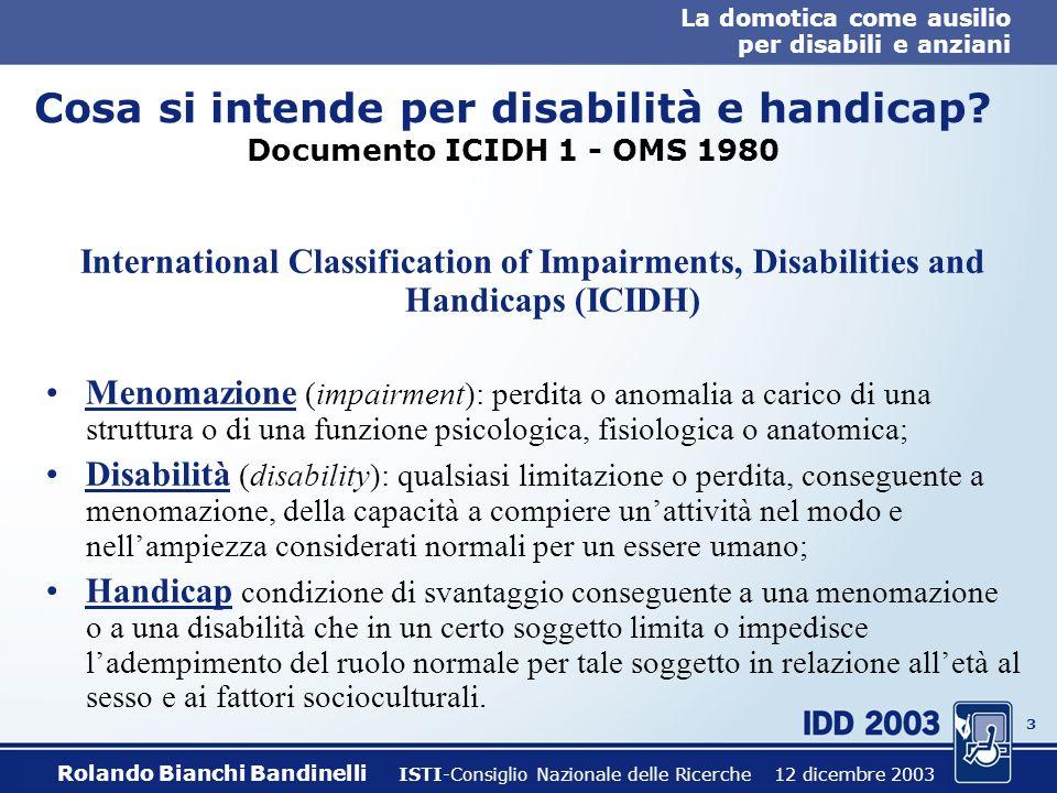 La domotica come ausilio per disabili e anziani