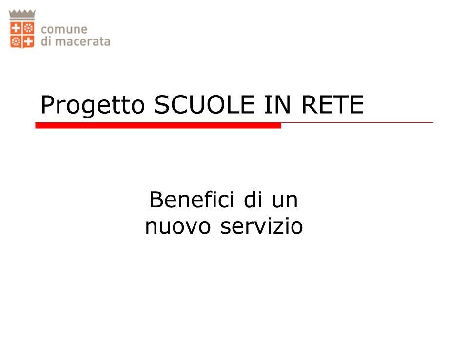 Progetto SCUOLE IN RETE