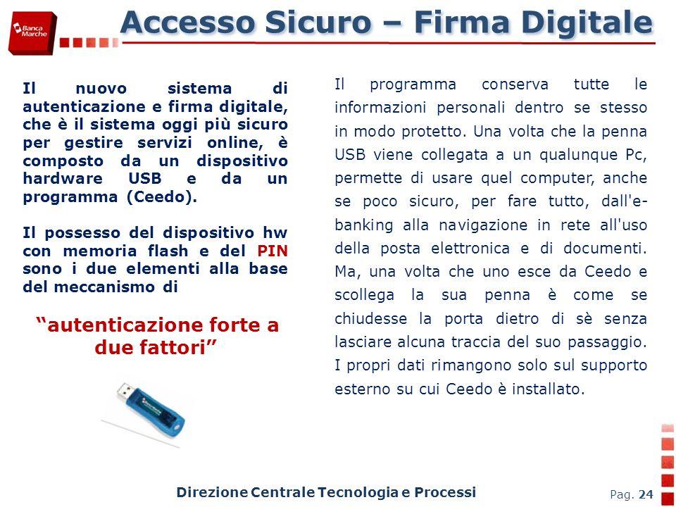 Accesso Sicuro – Firma Digitale