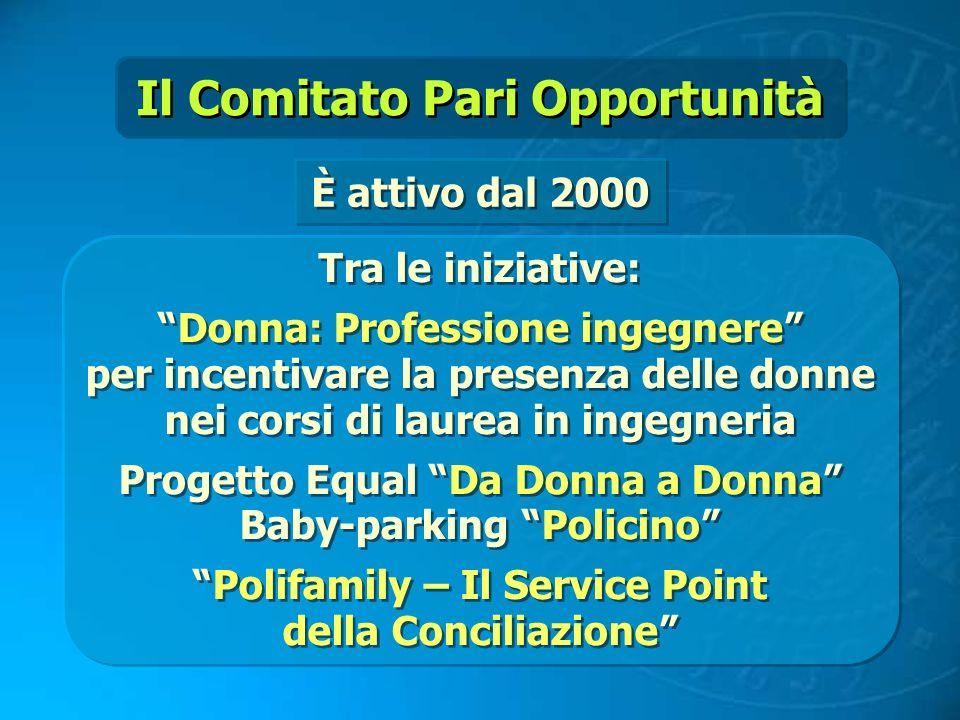 Il Comitato Pari Opportunità
