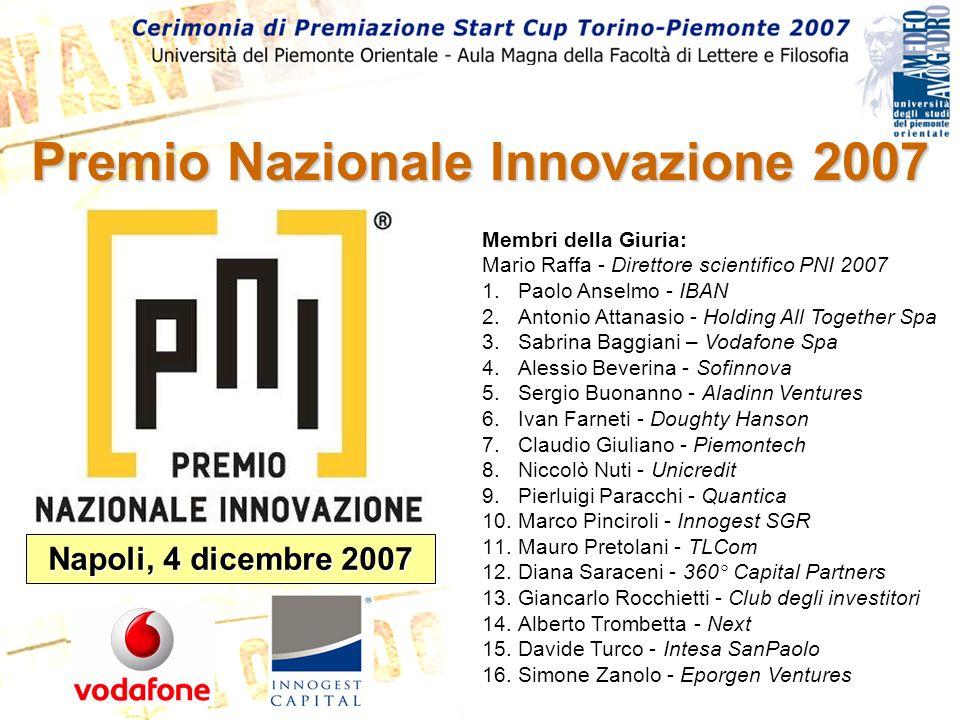 Premio Nazionale Innovazione 2007