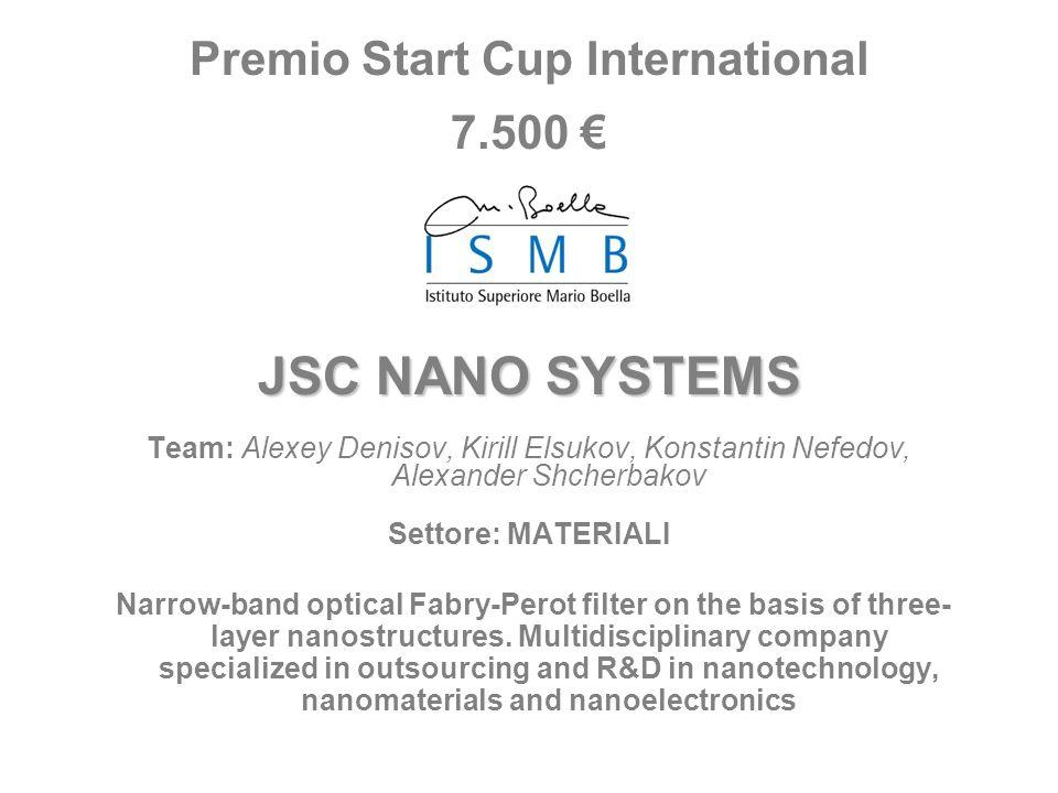 Premio Start Cup International