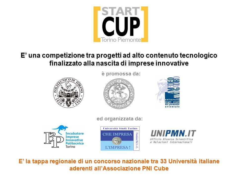 E' una competizione tra progetti ad alto contenuto tecnologico finalizzato alla nascita di imprese innovative