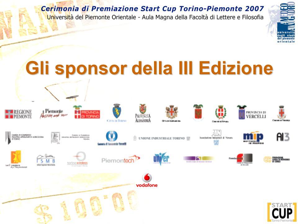 Gli sponsor della III Edizione
