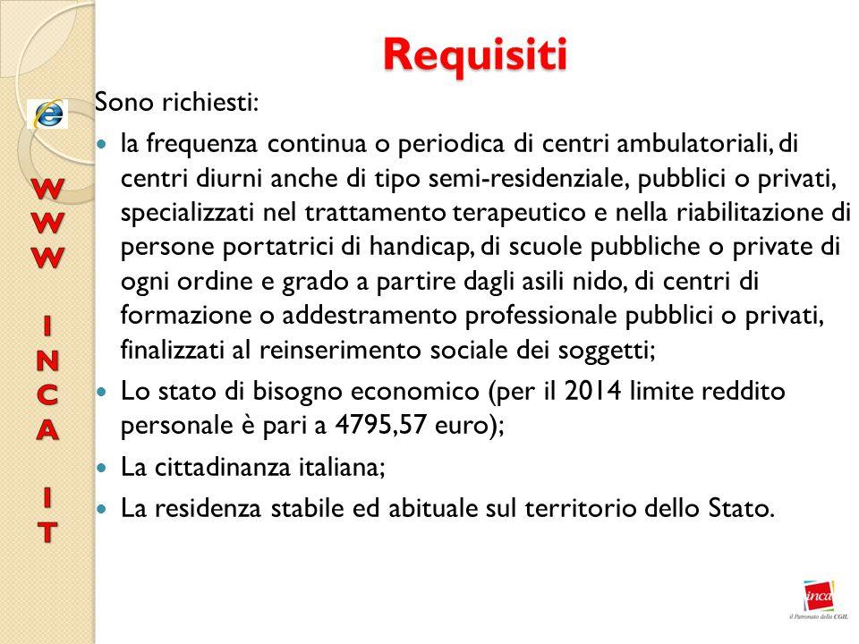 Requisiti Sono richiesti:
