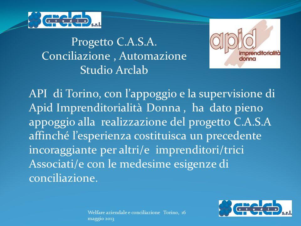 Progetto C.A.S.A. Conciliazione , Automazione Studio Arclab