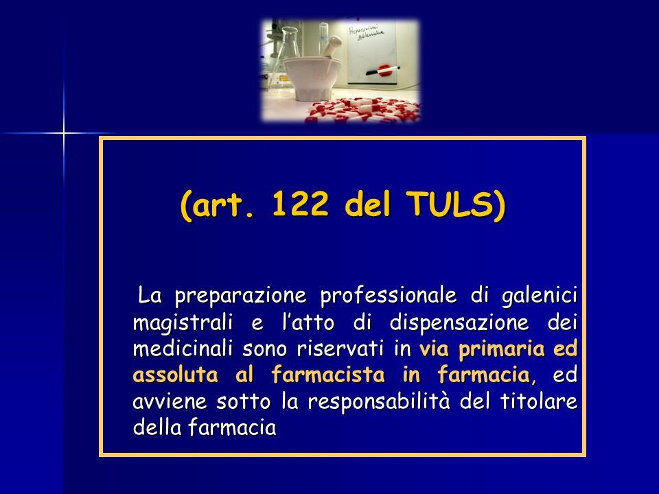 (art. 122 del TULS)