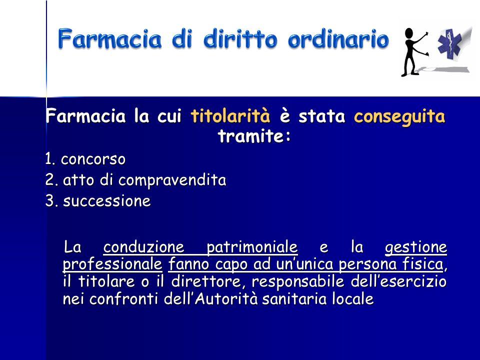 Farmacia di diritto ordinario