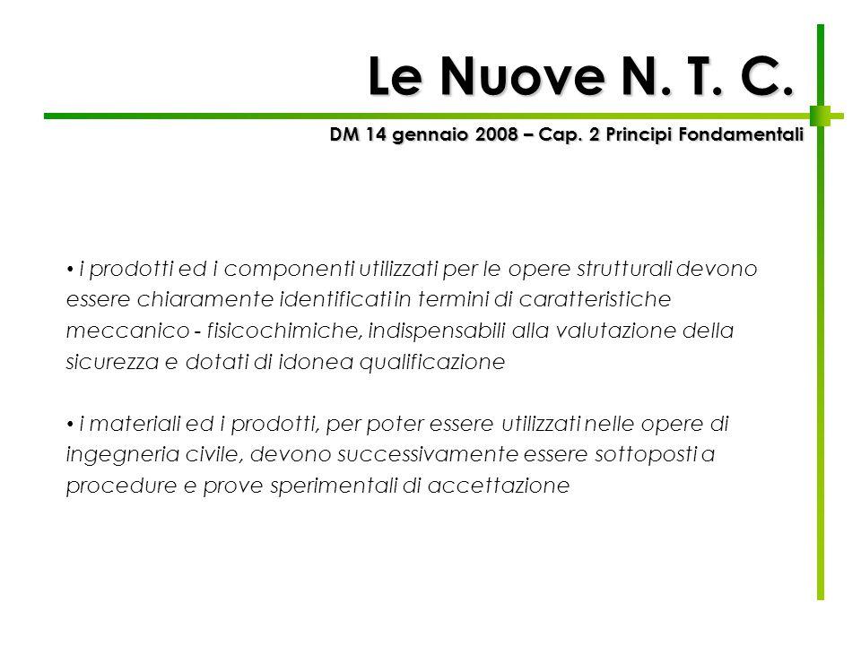 DM 14 gennaio 2008 – Cap. 2 Principi Fondamentali