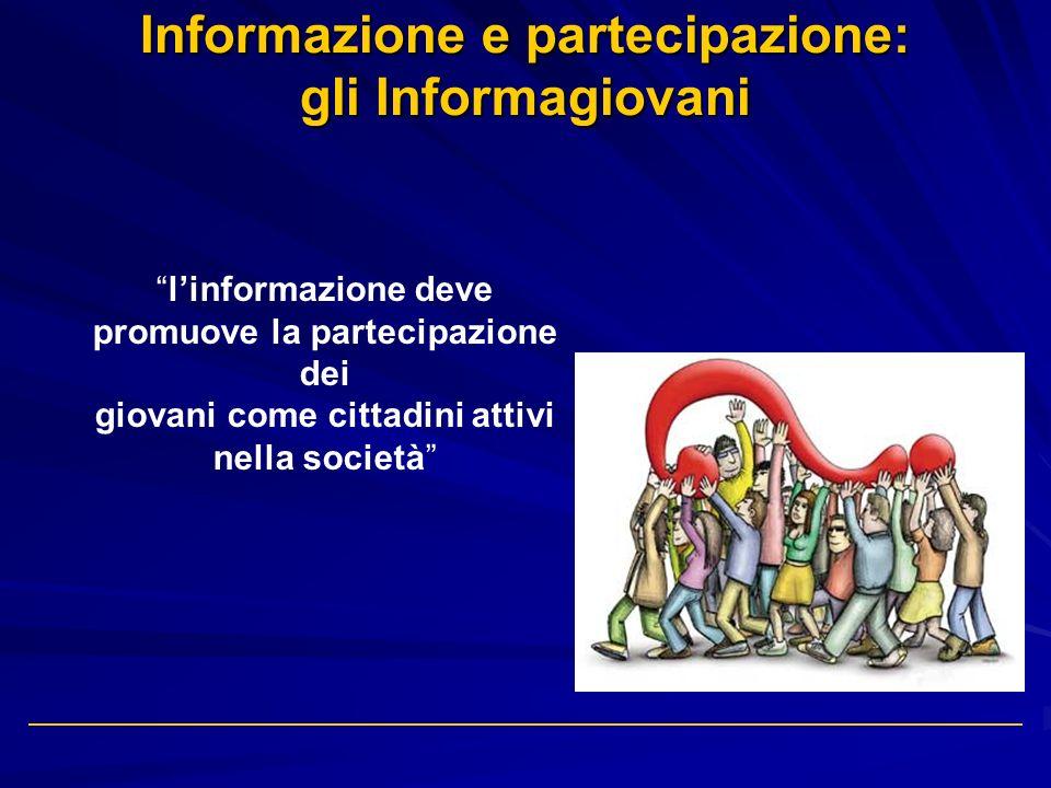 Informazione e partecipazione: gli Informagiovani