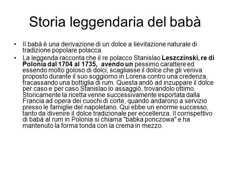Storia leggendaria del babà