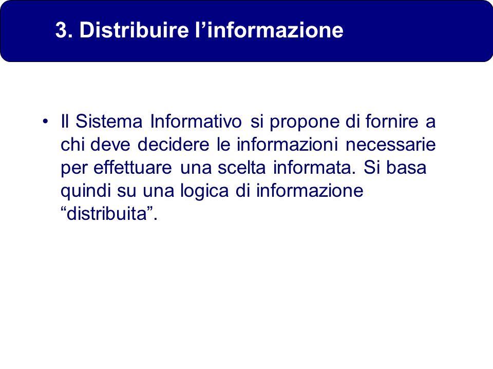 3. Distribuire l'informazione