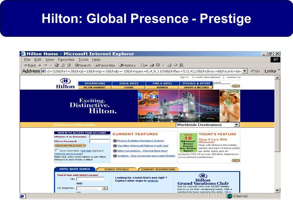 Hilton: Global Presence - Prestige
