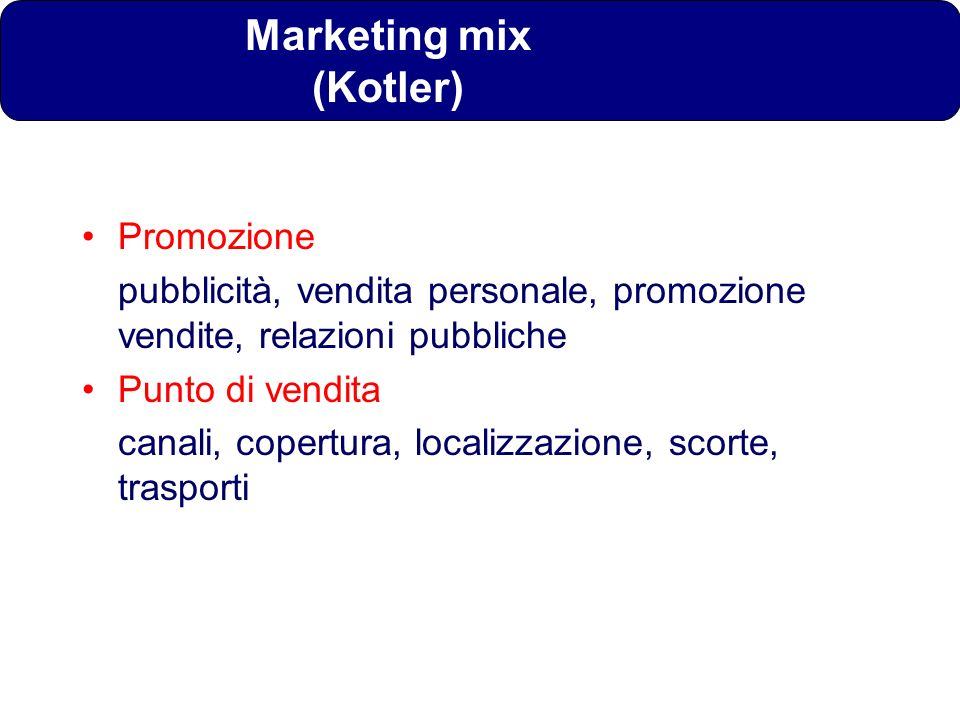 Marketing mix (Kotler)