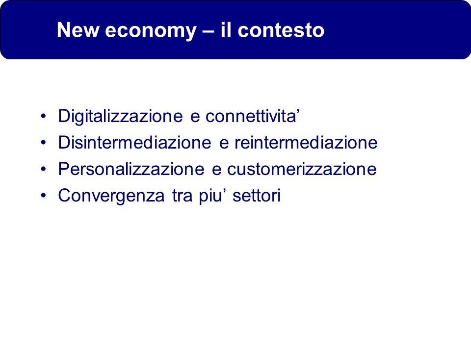 New economy – il contesto